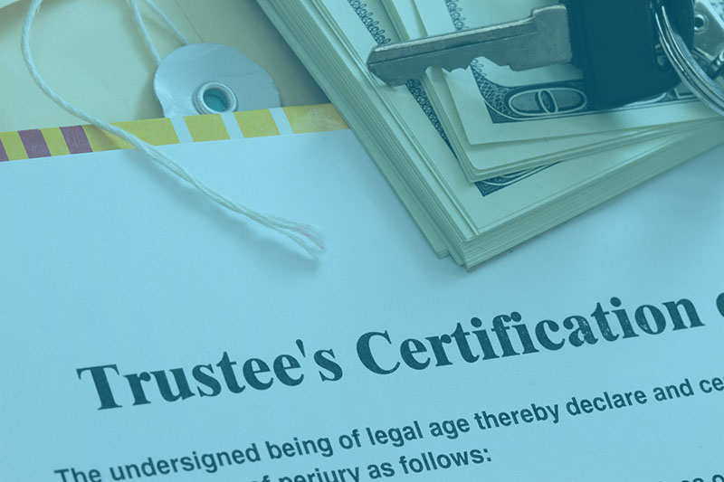 Process to remove a trustee